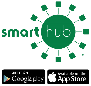 SmartHub Logo & app download icons