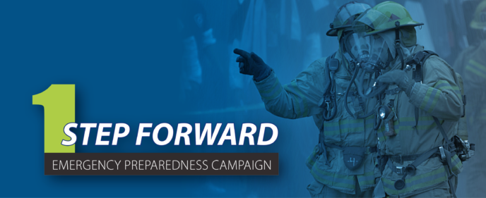 EPUD's Emergency Preparedness Campaign, 1 Step Forward