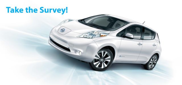 Take the Electric Vehicle Survey!