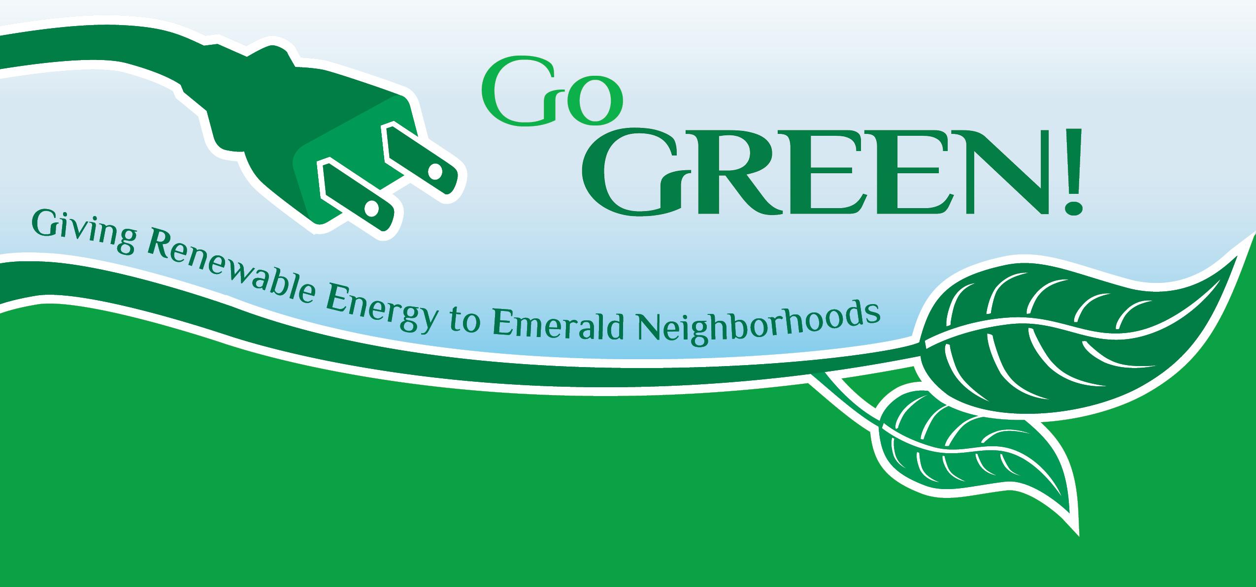 Go Green Help Bring Renewable Energy To Emerald