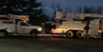 Crews prepare to head into the field for another day of outage restorations