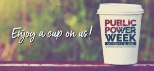 Coffee Drink in celebration of Public Power Week