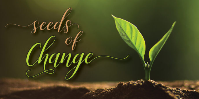seeds of Change recognizes an EPUD customer for their commitment to the environment.