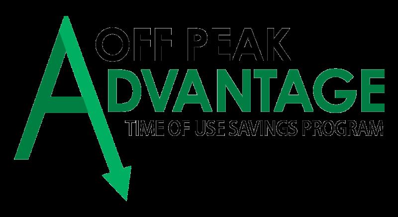 Off Peak Advantage Time of Use Savings Program logo