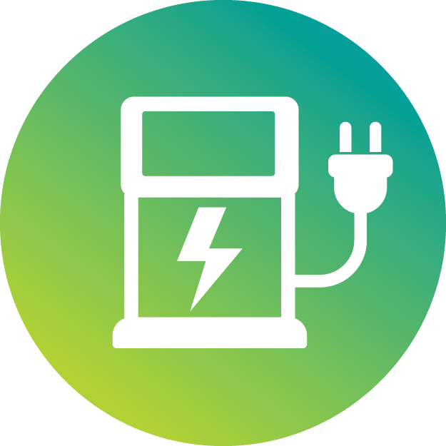 charging station illustration